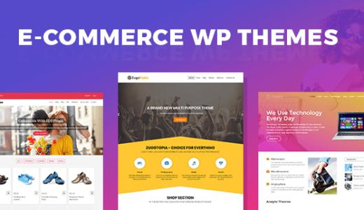 Best ECommercee WordPress Themes